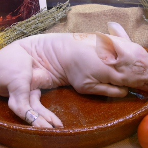 The Most Horrifying Way to Eat Cochinillo (a.k.a. Whole BabyPig)