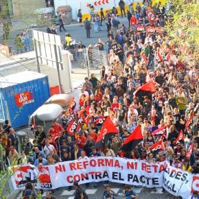 The 29M Protest inBarcelona