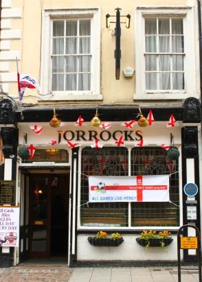 England-pub-Derby-streets-flags-2012