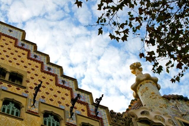 Barcelona-Casa-Batllo-Casa-Amatller-roof-Gaudi-modernism