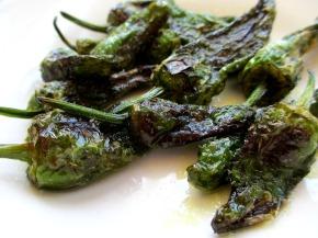 Spanish Food: Pimientos delPadrón