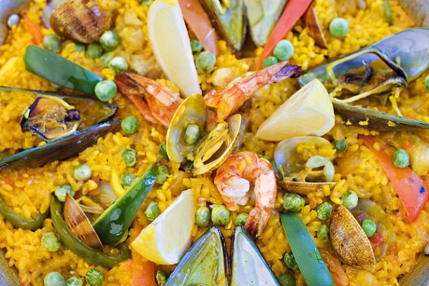 paella-delicious-Spanish-food