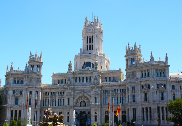 Madrid-Spain-Palacio-de-Comunicaciones-Palace-of-Communications