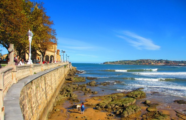 Gijón-Asturias-Spain-coast-pretty-travel
