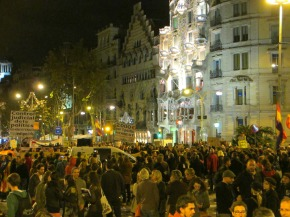 Spanish Protests: The N14 Vaga General in Barcelona