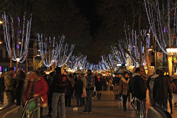 Barcelona-Christmas-lights-Las-Ramblas-2012