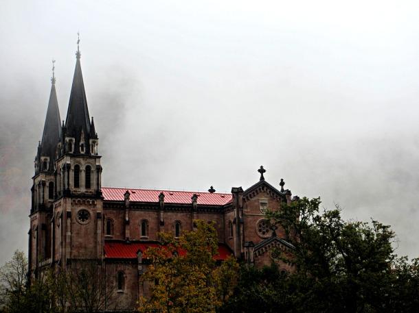 Asturias-Covadonga-church