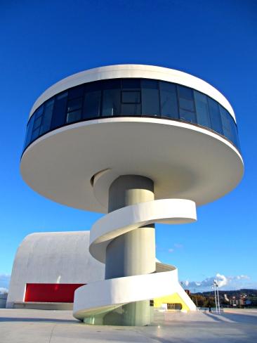 Aviles-Spain-Oscar-Niemeyer-Cultural-Center-Asturias