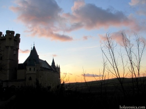 Where in Spain Wednesday – Sunset in Segovia