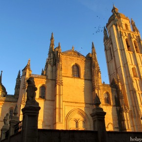 Where in Spain Wednesday – Segovia's Cathedral atSunset