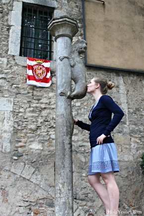 Kissing Weird Things in Girona