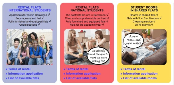 rent-flat-international-student-barcelona